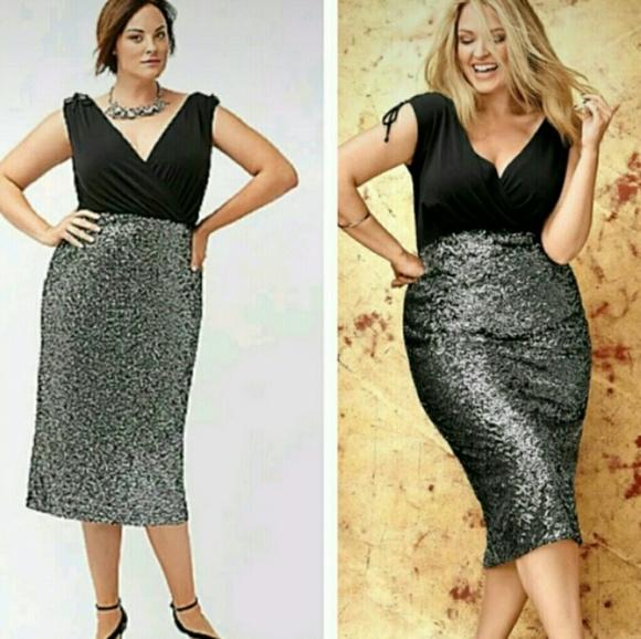 7f54747f070 Lane Bryant Dresses   Skirts - Lane Bryant Size 16 Sequin Dress